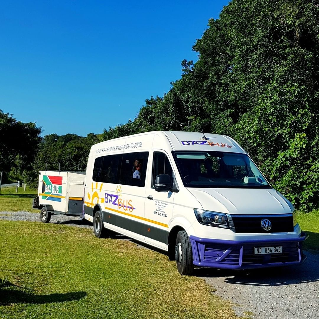 Baz bus backpackers transport through South Africa