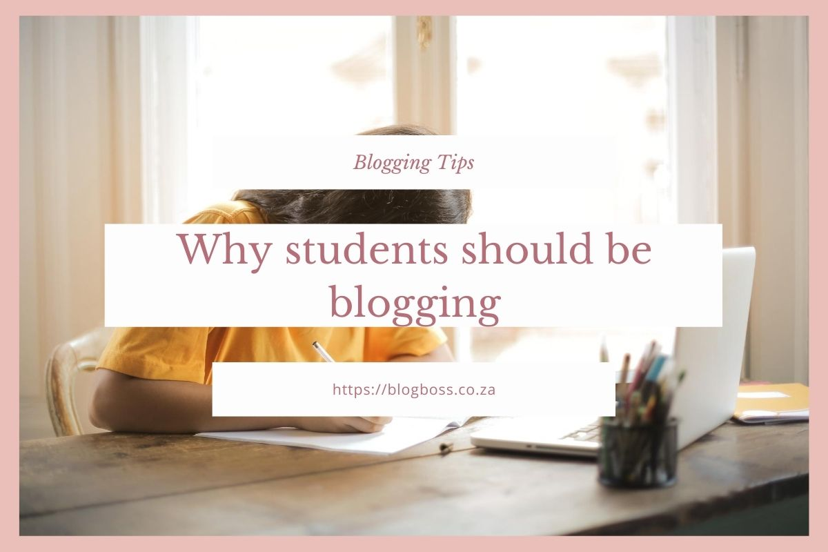 Why students should be blogging